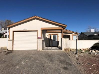 4745 Platinum Drive NE, Rio Rancho, NM 87124 - #: 938308