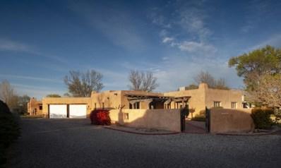9129 Guadalupe Trail NW, Albuquerque, NM 87114 - #: 955357