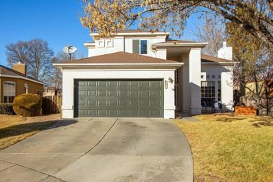 4801 Mesa Bonita Court NW, Albuquerque, NM 87120 - #: 960313