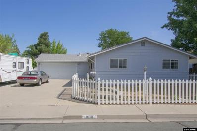 808 Hickory Drive, Carson City, NV 89701 - #: 180012496