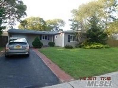 33 College Hills Dr, Farmingville, NY 11738 - MLS#: 2971697