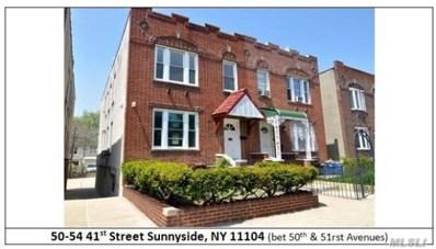 50-54 41st St, Sunnyside, NY 11104 - MLS#: 3051526
