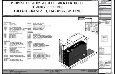 110 E 53rd St, Brooklyn, NY 11203 - MLS#: 3064562
