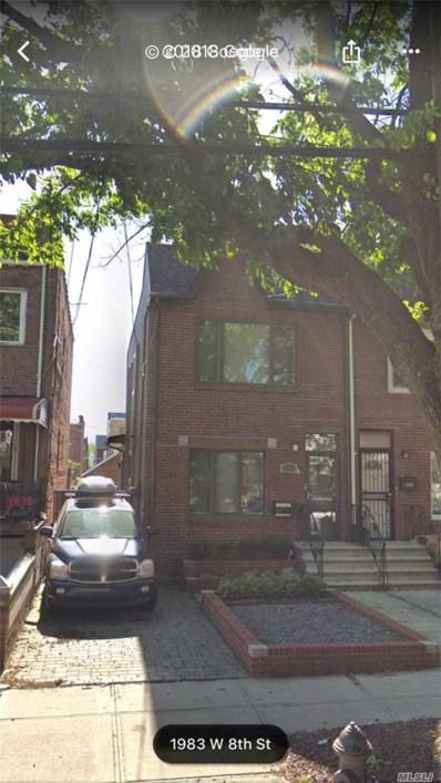 1984 W 8th St, Brooklyn, NY 11223 - MLS#: 3074562