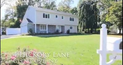4 Hickory Ln, Glen Cove, NY 11542 - MLS#: 3096911