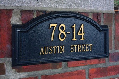 78-14 Austin UNIT 1G, Forest Hills, NY 11375 - MLS#: 3104037