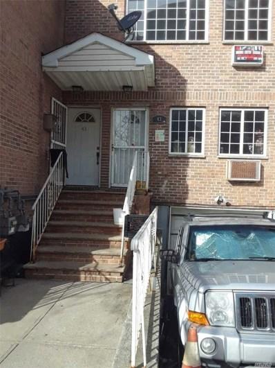 43 Cedar St, Bushwick, NY 11221 - MLS#: 3107825