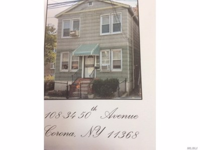 108-34 50TH Ave, Corona, NY 11368 - MLS#: 3111274