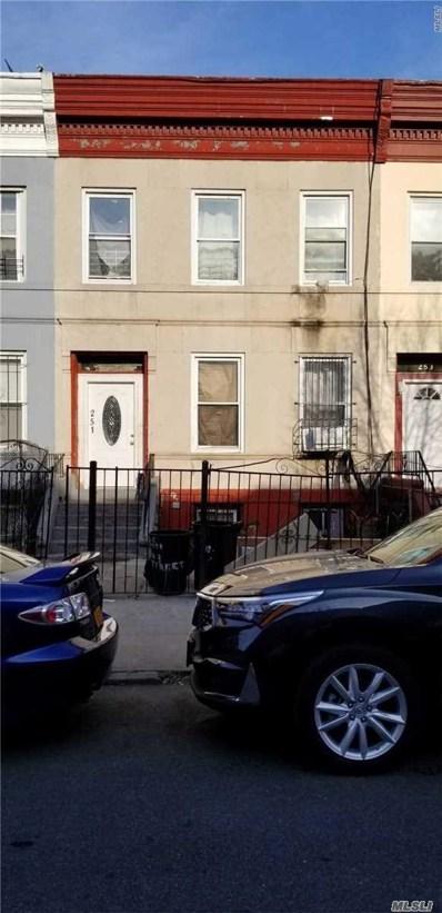 251 E 23rd St, Brooklyn, NY 11226 - MLS#: 3111558