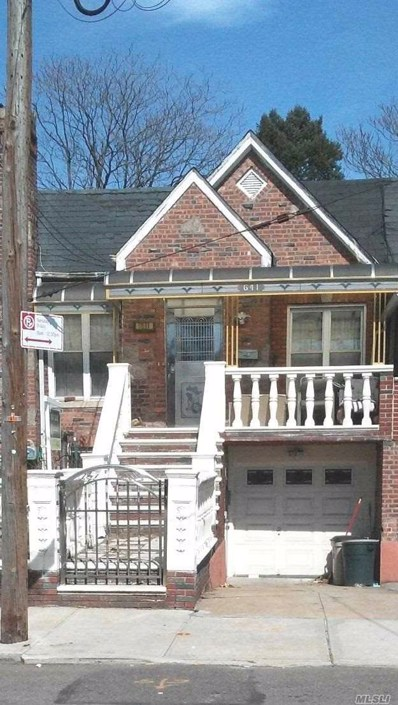 641 East 91, East Flatbush, NY 11236 - MLS#: 3112693
