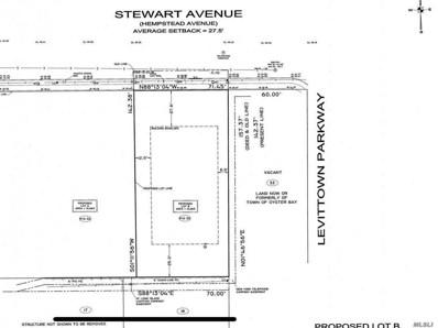 89 (B) Stewart Ave, Hicksville, NY 11801 - MLS#: 3117475