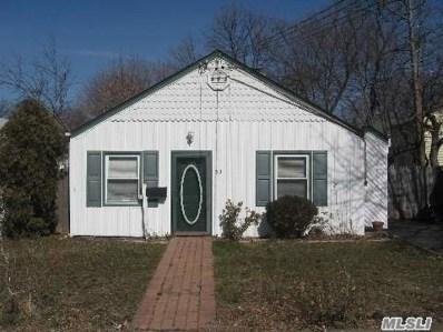 33 Roosevelt St, Hempstead, NY 11550 - MLS#: 3118144
