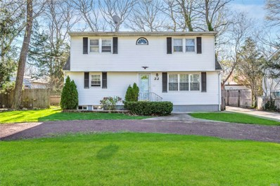 22 Pine Cone St, Middle Island, NY 11953 - MLS#: 3123120