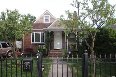 257 William St, W. Hempstead, NY 11552 - MLS#: 3129425