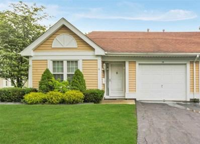 79 Glen Dr UNIT 55, Ridge, NY 11961 - MLS#: 3140651