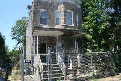 816 Barbey St, Brooklyn, NY 11207 - MLS#: 3147623