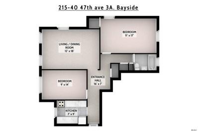 215-40 47th Ave UNIT 3A, Bayside, NY 11361 - MLS#: 3153537