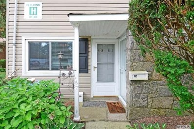 40 W 4th St UNIT 81, Patchogue, NY 11772 - MLS#: 3156042