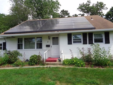 5 Amherst St, Bay Shore, NY 11706 - MLS#: 3157978
