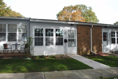 424B Woodbridge Dr UNIT 55+, Ridge, NY 11961 - MLS#: 3163835
