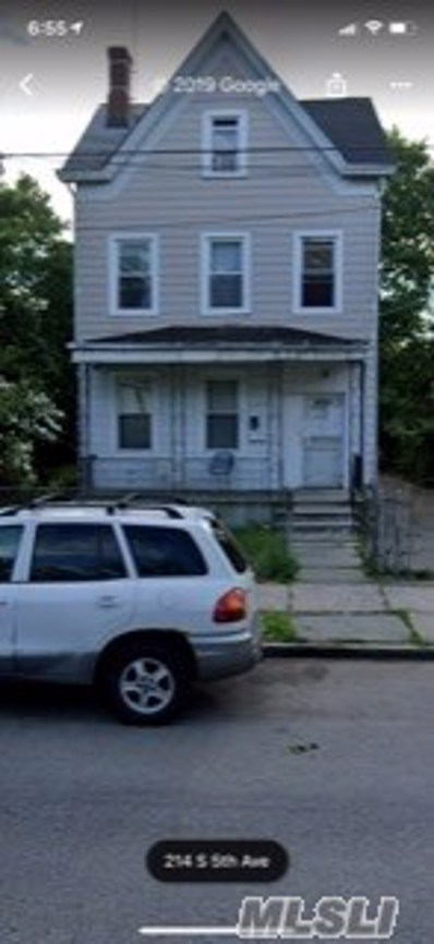 214 S 5th Ave, Mt Vernon, NY 10550 - MLS#: 3164390