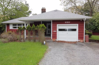 222 Woodacres Rd, E. Patchogue, NY 11772 - MLS#: 3177378