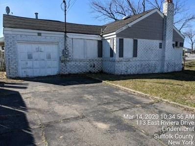 113 E Riviera Dr, Lindenhurst, NY 11757 - MLS#: 3183212