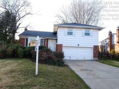 140 Manor St, Plainview, NY 11803 - MLS#: 3184056