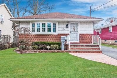 227 Frederick Ave, Roosevelt, NY 11575 - MLS#: 3185588