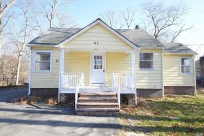 67 Gray Ave, Medford, NY 11763 - MLS#: 3186855