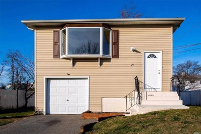 24 Beach St, Massapequa, NY 11758 - MLS#: 3186872