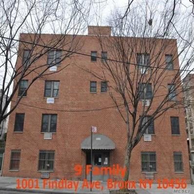 1001 Findlay Ave, Bronx, NY 10456 - MLS#: 3187508