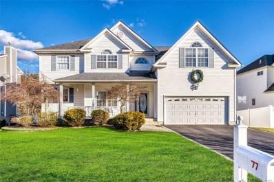 77 Beechwood Dr, Manorville, NY 11949 - MLS#: 3195143