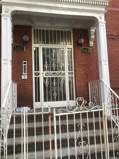 582 Throop Ave UNIT 1A, Brooklyn, NY 11216 - MLS#: 3195947
