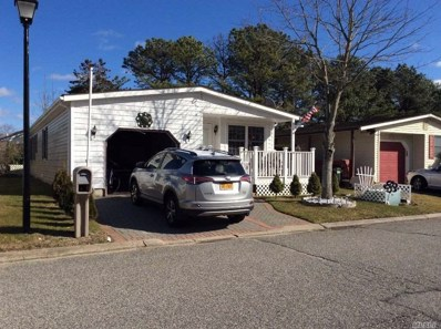 134 Village Cir W UNIT 134, Manorville, NY 11949 - MLS#: 3197766