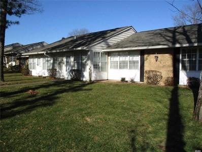 328D Woodbridge Drive Dr UNIT 328D, Ridge, NY 11961 - MLS#: 3200330