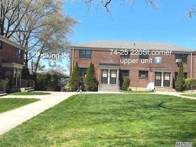 74-25 220 St UNIT Upper, Bayside, NY 11364 - MLS#: 3200879