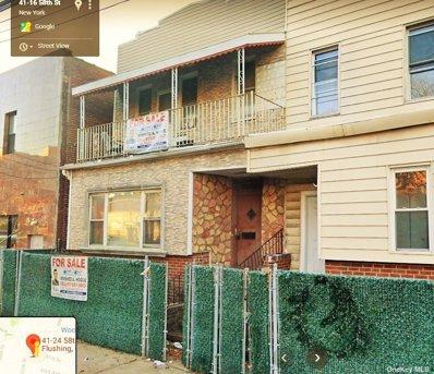 41-24 58th St, Woodside, NY 11377 - MLS#: 3206409