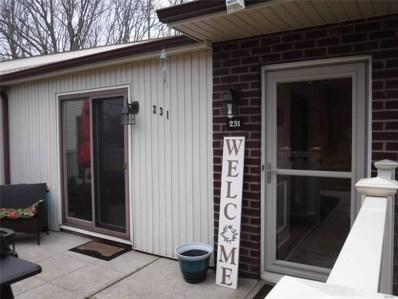 231 Birchwood Rd, Coram, NY 11727 - MLS#: 3207782