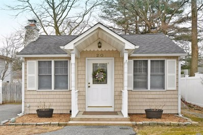 20 Oak St, Nesconset, NY 11767 - MLS#: 3208165