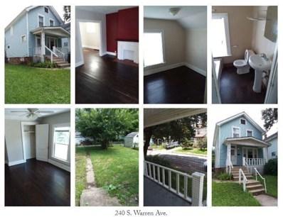 240 S Warren Avenue, Columbus, OH 43204 - MLS#: 218032041