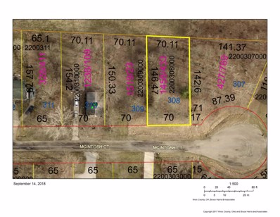 Lot  308 McIntosh Court, Howard, OH 43028 - MLS#: 218034976