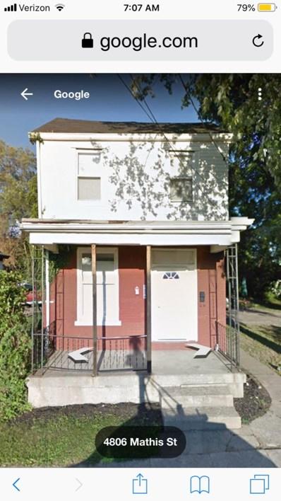 4806 MATHIS Street, Cincinnati, OH 45227 - #: 1633673