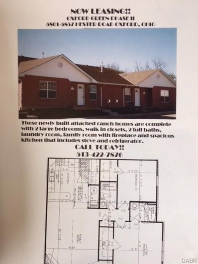 5837 Hester Road, Oxford, OH 45056 - MLS#: 759884