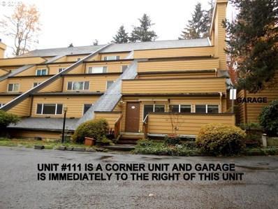 1601 NE 113TH St UNIT 111, Vancouver, WA 98686 - MLS#: 18030078
