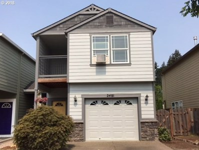 2481 25TH Ave, Forest Grove, OR 97116 - MLS#: 18059007