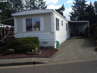 1199 N Terry St UNIT SP260, Eugene, OR 97402 - MLS#: 18072679