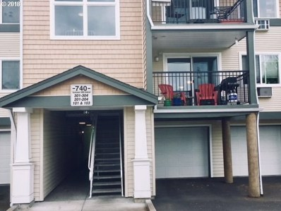 740 NW 185TH Ave UNIT 204, Beaverton, OR 97006 - MLS#: 18072837
