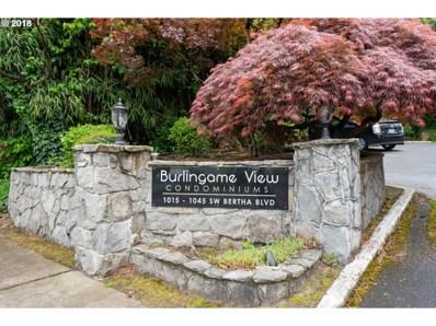 1035 SW Bertha Blvd UNIT 13, Portland, OR 97219 - MLS#: 18079609
