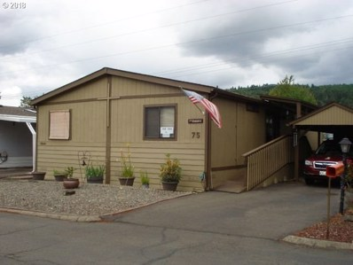 1200 E Central Ave UNIT 75, Sutherlin, OR 97479 - MLS#: 18131279